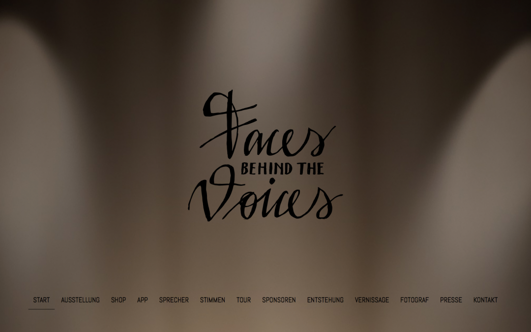 Faces behind the Voices