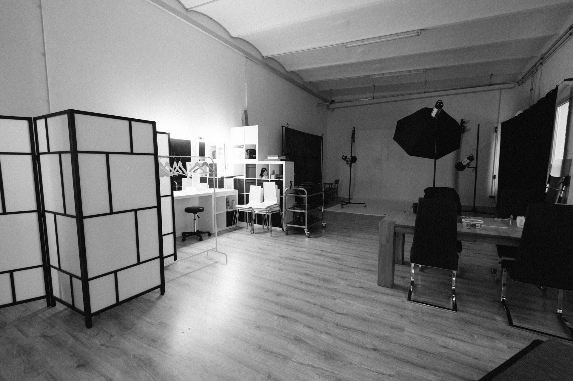 Grundlagen der Studiofotografie, Ansicht Studio manthey in Lüdenscheid
